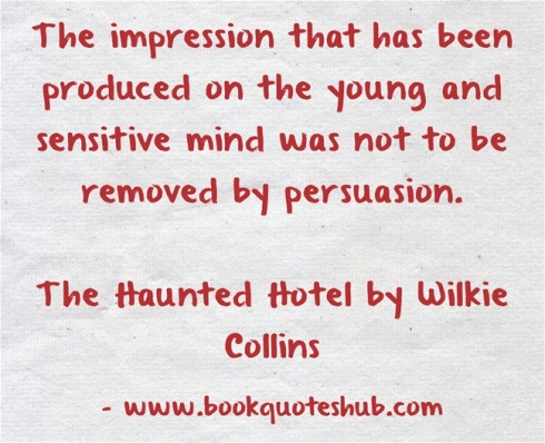 Quote about impression