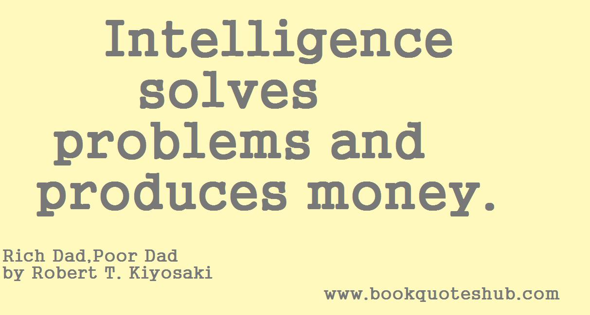 Intelligence Solves Book Quotes Hub