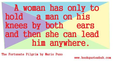 how woman can lead man quote