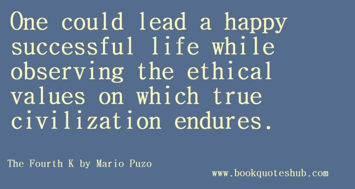 Ethical values and civilization quote image