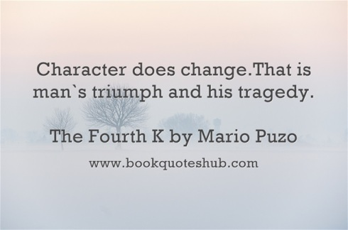 Quote about character