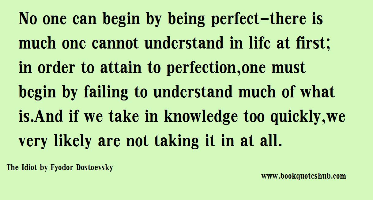 Being Perfect Book Quotes Hub