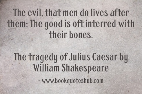 Quote about deeds