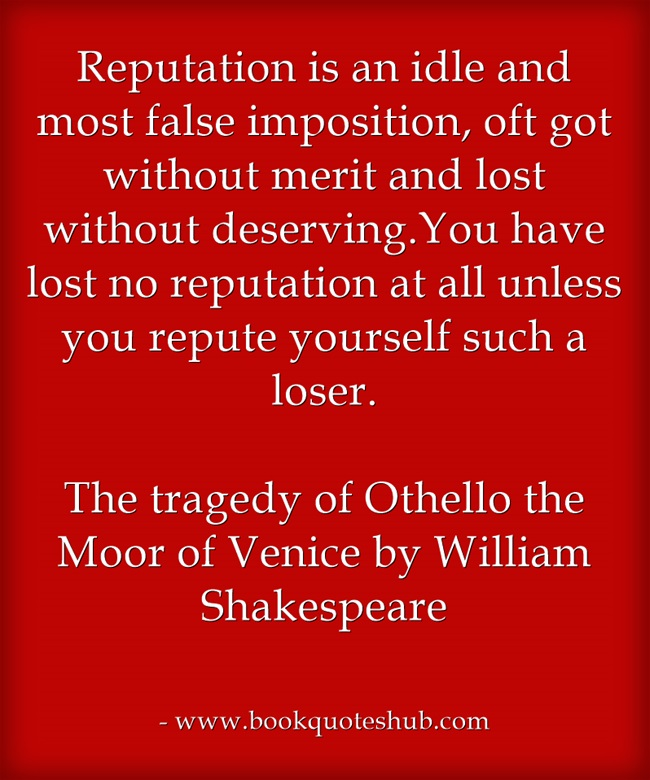 the tragedy of othello Objectives students will be able to-have an understanding of the background historical information for othello-answer pre-reading questions on othello.