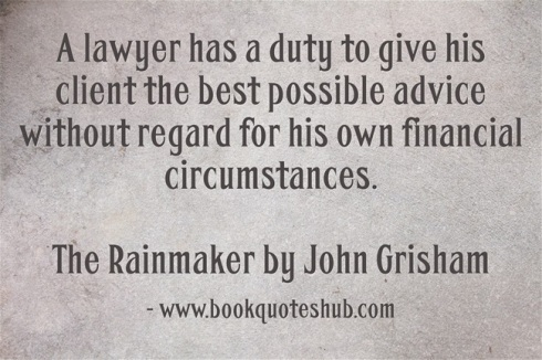 duty of a lawyer quote