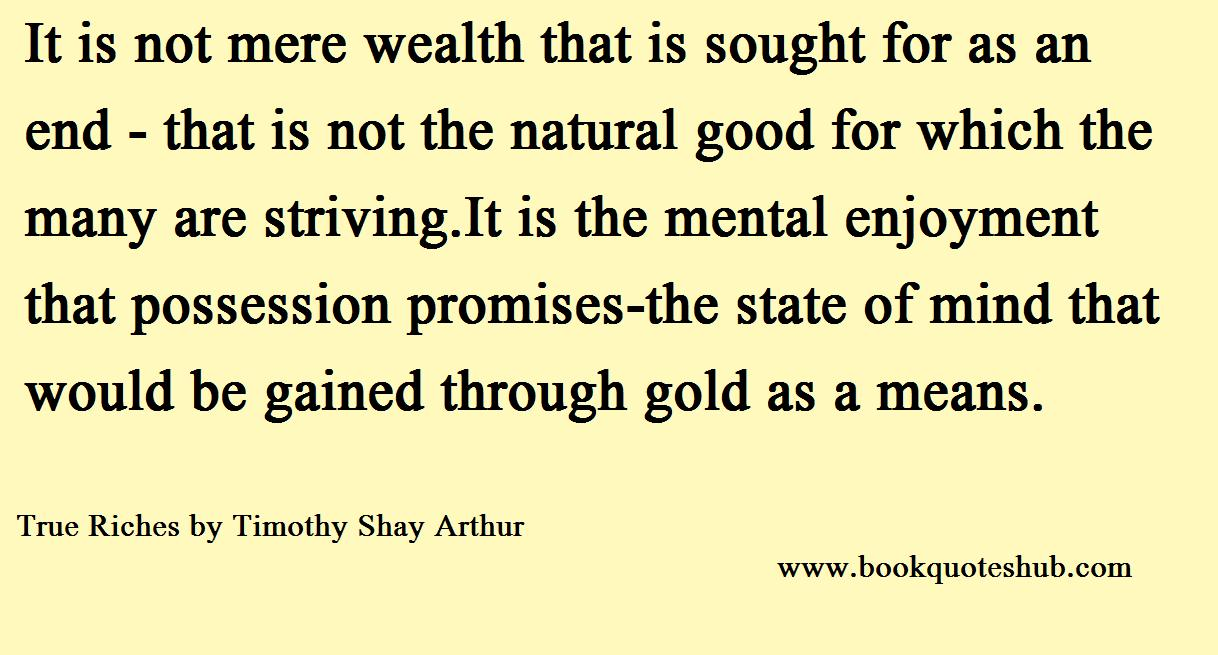 Natural Good For Which Many Striving Book Quotes Hub