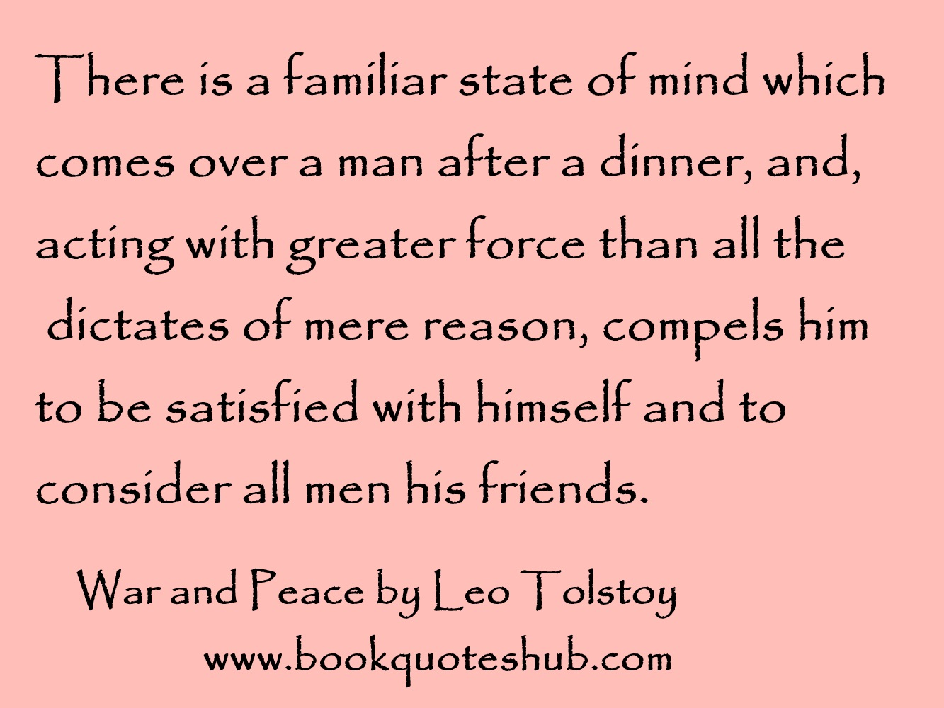 Tolstoy Quotes War And Peace War And Peace by Leo Tolstoy