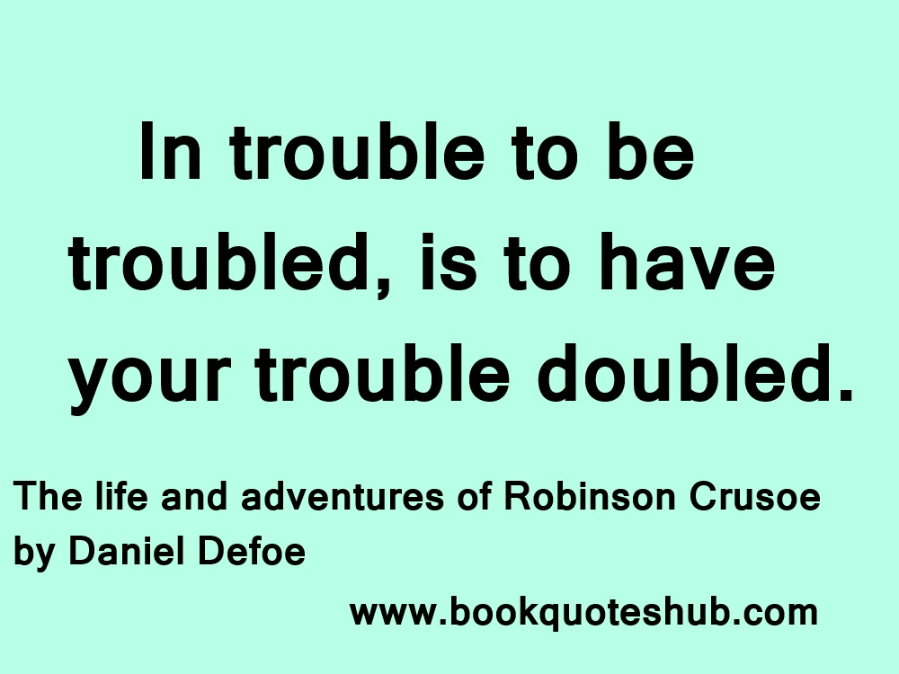 an examination of robinson crusoe by daniel defoe Zaleski reviews a new biography of robinson crusoe author daniel defoe, with special emphasis on defoe's religious sensibilities.