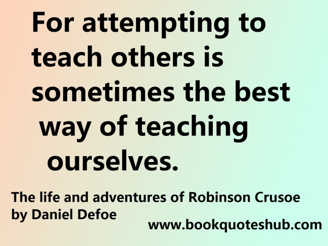 teaching others quote image