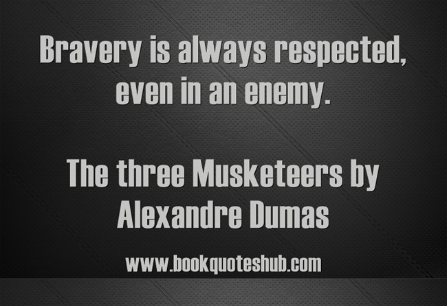 Three Musketeers Book Quotes