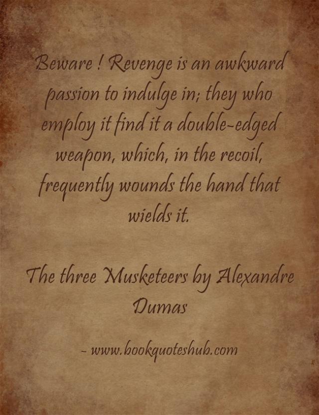 Revenge image quote