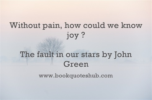 Quote about pain and joy