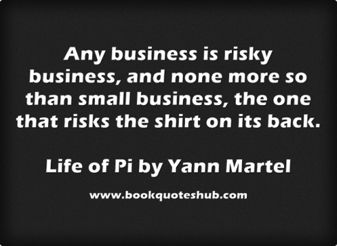 Small business quote image