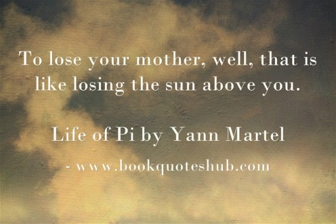 Quote about losing mother
