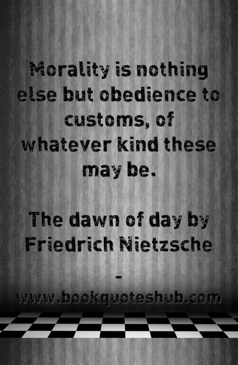 Quote about morality