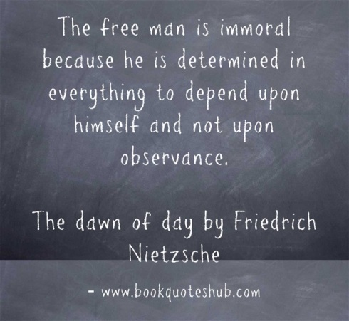 Quote about free man