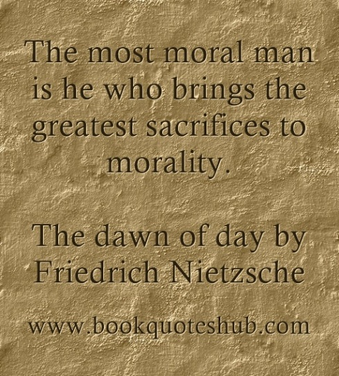 quote about moral men