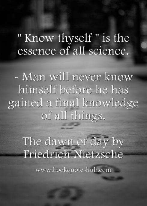 know thyself quote