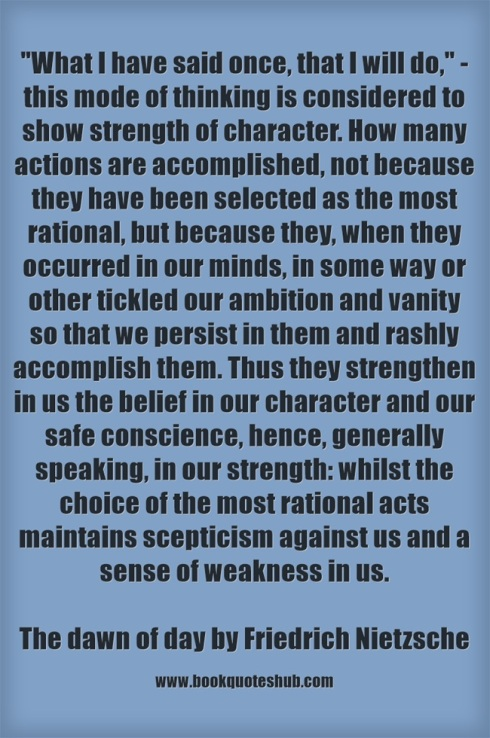 Quote about strength of character