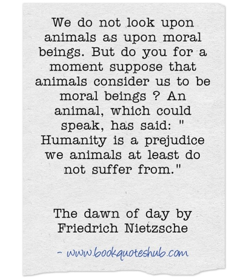 Quote about moral beings