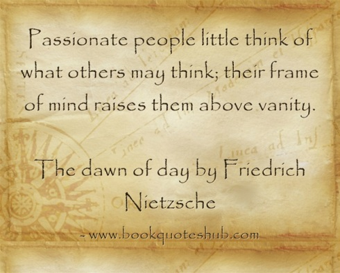 Quote about passionate people